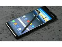 Samsung Note 8 Black New