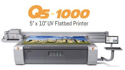 Cet Q5-1000 Uv 5x10 Flatbed Printer