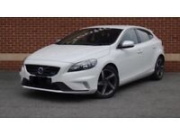 White V40 Rdesign Volvo. Immaculat condition. Private plate not included. Pic is of similar car