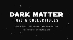 Dark Matter Toys and Collectibles in St Thomas
