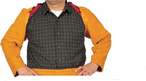 Weldas 44-2023 23 inch Welding Leather Sleeve System, Shoulder to Wrist, Brown
