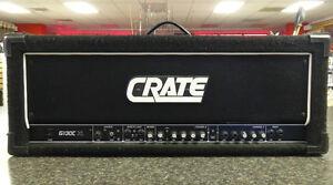 crate g130c xl stereo chours 130 watt high gain guitar amplifier head ebay. Black Bedroom Furniture Sets. Home Design Ideas