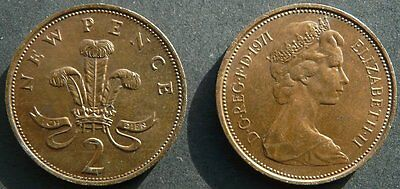 The very common 1971 2p coin (Mintage 1,406,203,250)