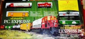 President's Choice Train Sets -- Full Set of 12 plus Buildings a