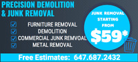 Cheap and Affordable Junk Removal 647 687 2432