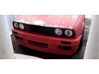 WANTED Bmw e30 m3 parts panels bumper wing side skirt rear quarter WANTED