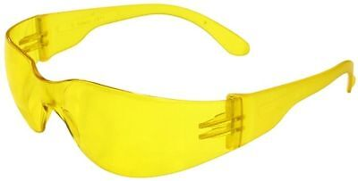 Radians Mirage Small Safety Glasses With Amber Lens Ansi Z87