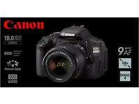 Canon 600D with lenses and tripod