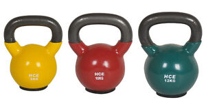 8-10-12kg-Vinyl-Kettlebell-PACKAGE-SET-Rubber-Base-Home-GYM-KETTLEBELL