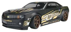 HPI 1/10th Sprint 2 DRIFT Black 2010 Camaro TE37 falken tyres RTR RC CAR 2.4ghz