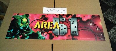 Area 51 New Old Stock Marquee   Not Reproduced    Factory New