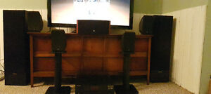 Home theater stereo system