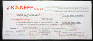 Kaneff golf for 4 - Century Pines