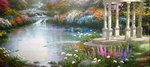 "Thomas Kinkade ""Garden of Prayer"" Art Print Stratford Kitchener Area image 8"