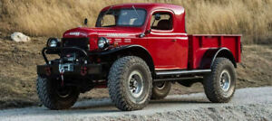 Looking For: Dodge Power Wagon Project
