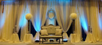 Backdrops for all occasions Wedding LAILA DECOR