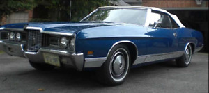 1971 Ford LTD Convertible - Make an offer looking to MOVE