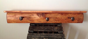 Custom made wall coat rack Kitchener / Waterloo Kitchener Area image 1