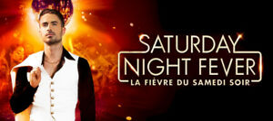 2 billets, Saturday Night Fever, Théatre Capitole, sam. 18 aout