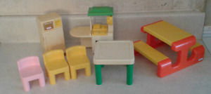Little Tikes doll house furniture