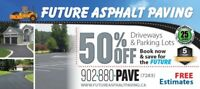 Paving Future Asphalt Paving in HRM Book Now save 50%!
