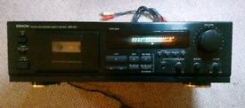Cassette tape Denon DRM 550 hifi separate