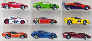 Lot of 9 Hot Wheels designed sports cars diecast cars 1:64