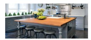 Butcher blocks / Wood countertops