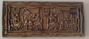 Wood Carving Decor