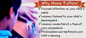 After school tutoring for Math - Science - English (Gr.1 - 12)