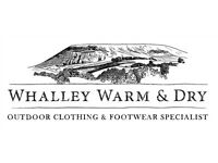 Sales Assistant job at Whalley Warm & Dry