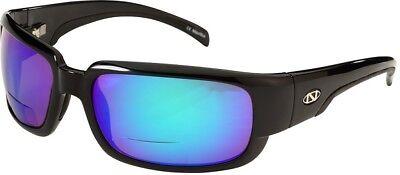 2c1fb74fc2ee NEW Onos Araya 123GA225 GREEN MIRROR Lens Polarized +2.25 Bifocal Sunglasses