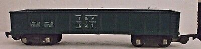 AMERICAN FLYER 631 TEXAS PACIFIC GONDOLA S-GAUGE, Excellant Condition, No Rust