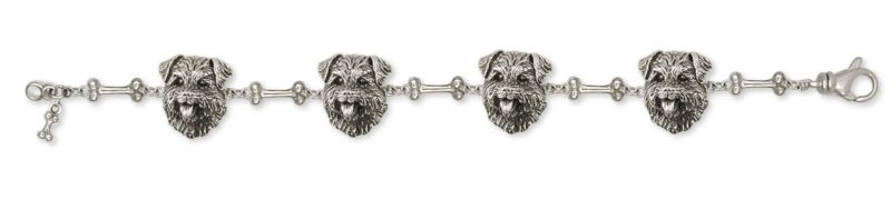 Norfolk Terrier Bracelet Jewelry Sterling Silver Norfolk Terrier Charms And Norf