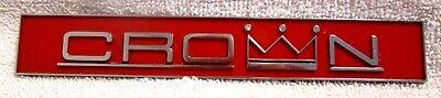 Crown Gas Range Metal Emblem Commercial Grade Cookware Lmu1
