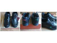 Next Boxed New Boys Kicker shoes,Black, Leather, Size UK 2, RRP £45