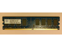 Nanya NT2GT64U8HD0BY-AD 8GB 4 x 2GB PC2-6400U DDR2 800 NonECC Desktop Memory RAM Kit