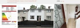 3 Bedroom terrace house for rent in Coagh, unfurnished