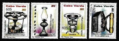 Cape Verde 2012 MNH SC# 967-970 Mint/Never Hinged