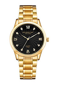 Brand New Gold Stainless Steel Men's Wrist Watches for Man