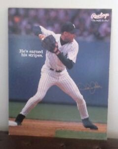 New York Yankees Derek Jeter rare promo cardboard poster sign