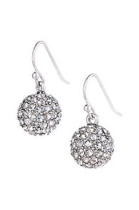 Brand New - Handset Czech Crystal Earrings