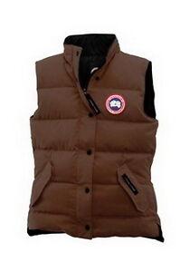 Canada Goose Freestyle Women Vest Brown