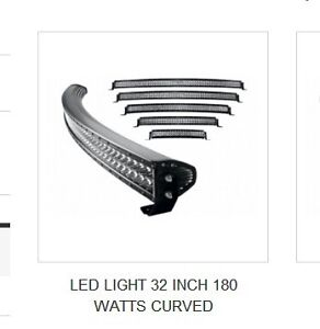 LIGHT 32 INCH 180 WATTS CURVED