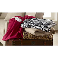 Electric Comfort Throw-Red, New