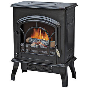 Freestanding Compact Electric Fireplace Heater, New