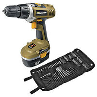 Rockwell 18V Cordless Drill w/105pc Accessories, New