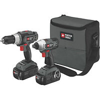 Porter Cable 18V Drill and Impact Wrench, New