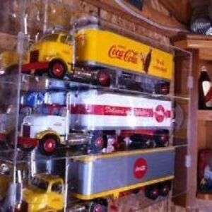 Rare 3 Coca Cola ERTL TRansport Trucks