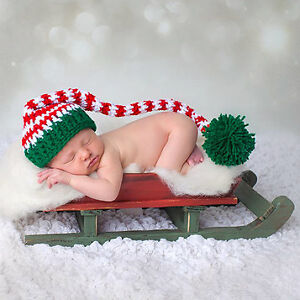 NEW - Knit Hats and photography props Size Newborn - 12 months